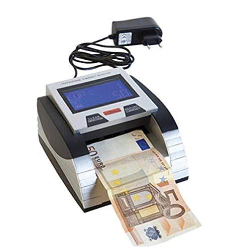 Rilevatore Banconote False Verifica Conta Banconote a Batteria con Certificazione BCE