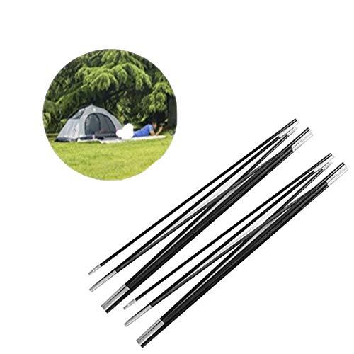 Azarxis Arceaux de Tente Tige Tente en Aluminium Kits de R/éparation 2 pcs M/ât de Tente Poteaux de Rechange R/églables L/éger Pliage pour Camping
