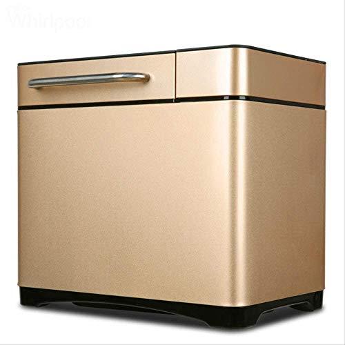 SASAMM Fabricante de Pan Digital, programable, 19 configuraciones + Sin Gluten, lavaplatos Safe Pan + 2 Amasado Paddles, Oro
