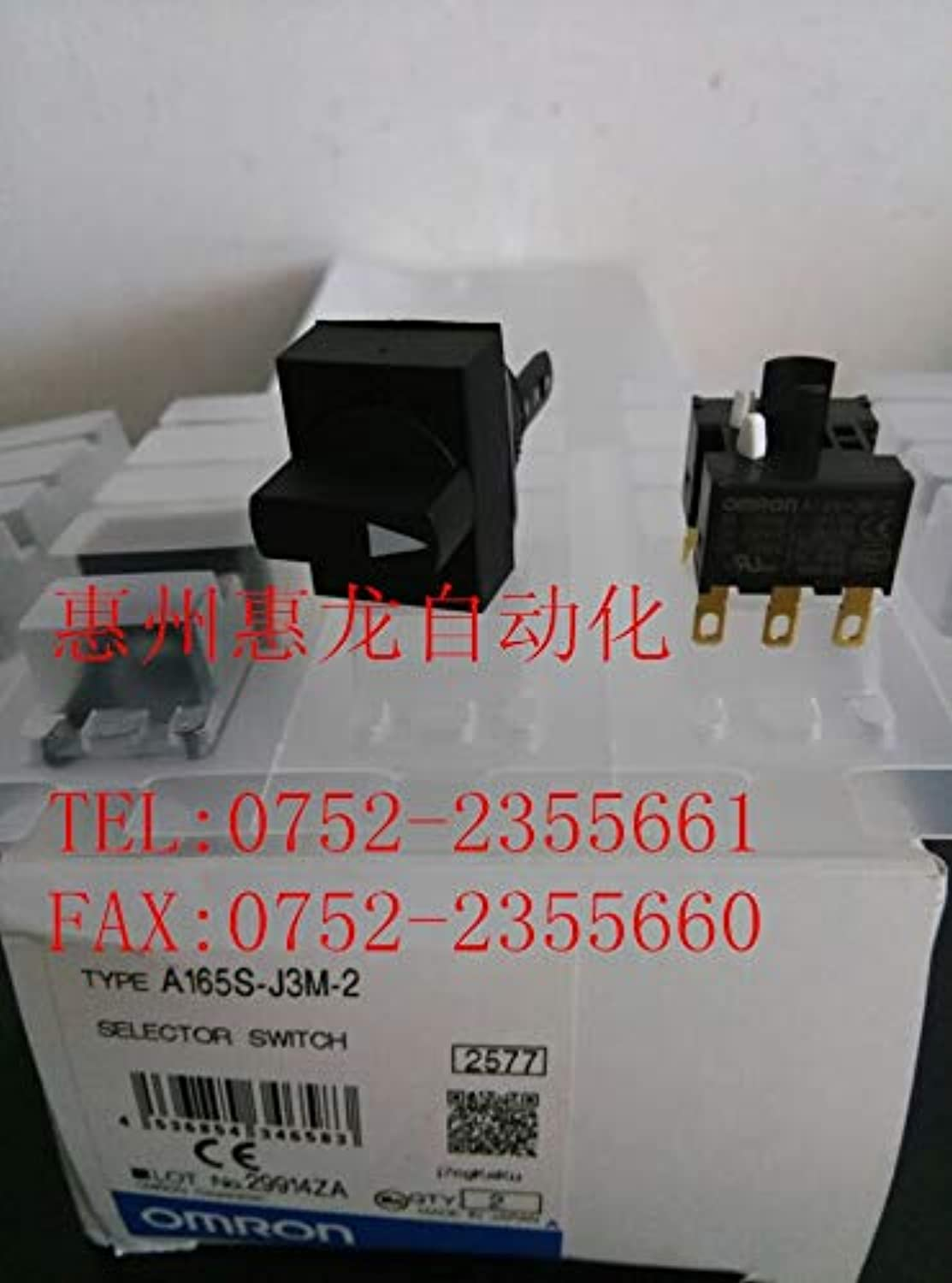 [ZOB] Supply of New Original OMRON Omron Button Switch A165SJ3M22PCS LOT