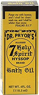 Dr. Pryor's 7 Holy Spirits Hyssop Bath Oil