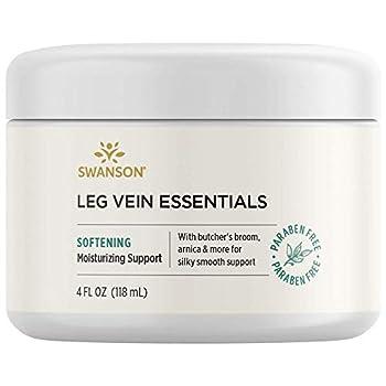 Swanson Leg Vein Essentials Cream 4 fl Ounce  118 ml  Cream