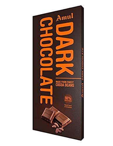 Amul Dark Chocolate, 150Gm. (Pack of 2)