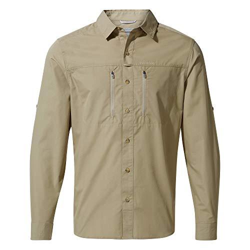 Craghoppers Herren T-Shirt Kiwi Boulder, Rubble, L, CMS612 39W70