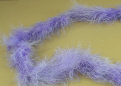 Mini Marabou Feathers BOA Craft Decoration 14 Grams - 2 Yards (Lavender)
