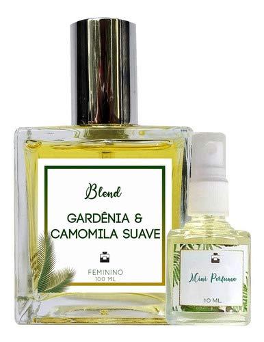 Perfume Gardênia & Camomila 100ml Feminino - Blend de Óleo Essencial Natural + Perfume de presente