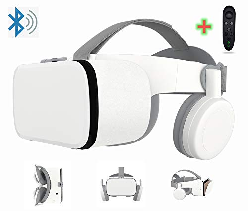 3D Virtual Reality Headset With Wireless Remote Bluetooth, 3D VR Glasses for TV,Movies & Video Games...
