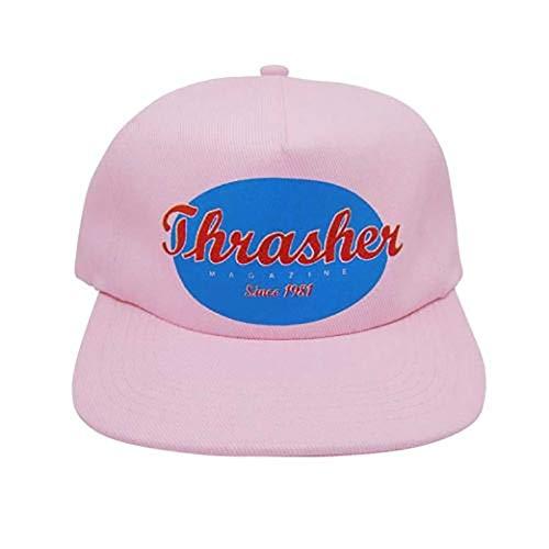 THRASHER MAGAZINE Gorra ovalada Snapback Cap - Pink