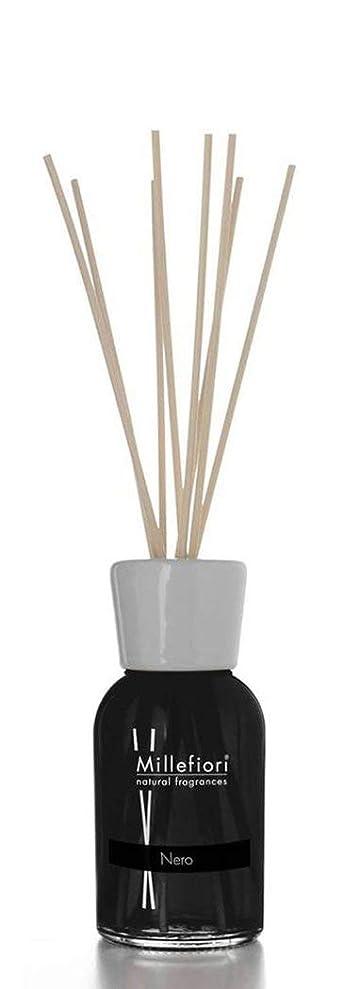 交換可能植物学毎週Millefiori NATURAL FRAGRANCES フレグランスディフューザー L ネロ 500ml DIF-L-027