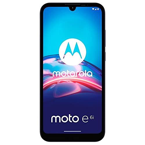 Motorola Moto E6i - Smartphone 32GB, 2GB RAM, Dual SIM, Titanium Gray
