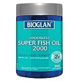 Bioglan BG Super Fish Oil, 2000 (200s), 0.37 Kilograms