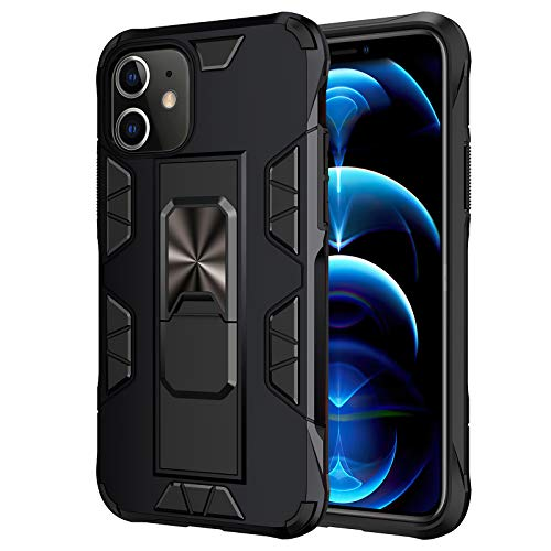 Cenmuttek Compatible with iPhone 12 case/iPhone 12 Pro case [ Military-Grade ] with Phone Grip and Expanding Stand   12ft. Drop Tested Protective Case  Kickstand   for iPhone 12 Pro Case(6.1inches)