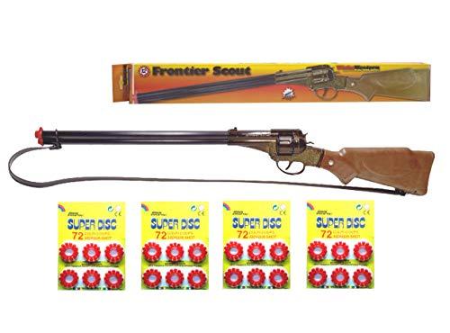 Outletdelocio.. Escopeta Frontier Scout Juguete con 288 fulminantes en Aros de 12 tiros. 27299/4-63863