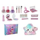 Gusengo Juego de Juguetes de Maquillaje para niños, Juguete de Maquillaje para niñas, cosméticos de simulación para niños, Juegos Divertidos para niñas