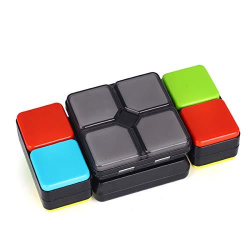 Música De Rubik's Cube Para Niños Rubik's Cube Música Electrónica, Juego De Rompecabezas Cubo De Rubik, Juguetes Interactivos Para Padres Y Niños, Mejora De La Memoria / Capacidad De Reacción Rápida