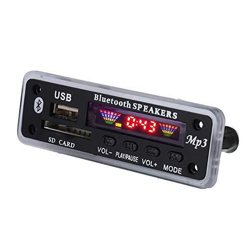 Placa de decodificação de alto-falante, Placa de decodificação, Bluetooth 5.0 para alto-falante, para áudio,(black)