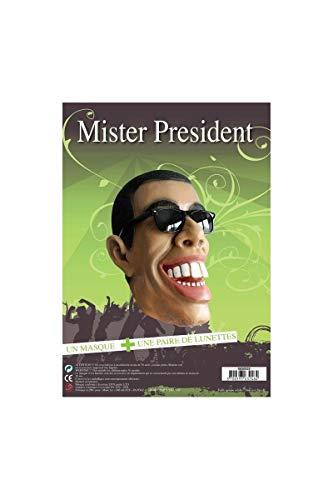 Farfouil en Fête Masque Mister President + Lunettes - Default Title