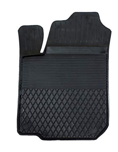 KO-XGUM 1 Stück Gummimatte Fußmatte mit hohem Rand Fahrer geeignet zur OPEL Mokka (Bj. ab 2012) ideal angepasst