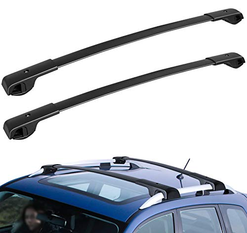 WU-MINGLU Roof Rack Crossbars Compatible for 2014-2021 Subaru Forester/2013-2019 Crosstrek/2012-2019 Impreza Roof Rack Cross Bars …