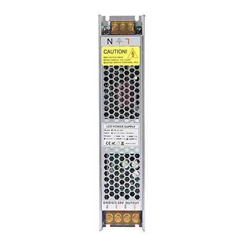 24V 120W PWM LED Controlador Regulable Atenuación de Fuente de Alimentación Regulable Transformador