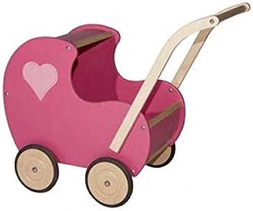 Van Dijk Toys Puppenwagen Rosa klassisch schliess harz