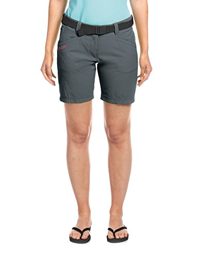 Maier sports Damen Lulaka Shorts Bermuda, Grau (Graphite/949), 36