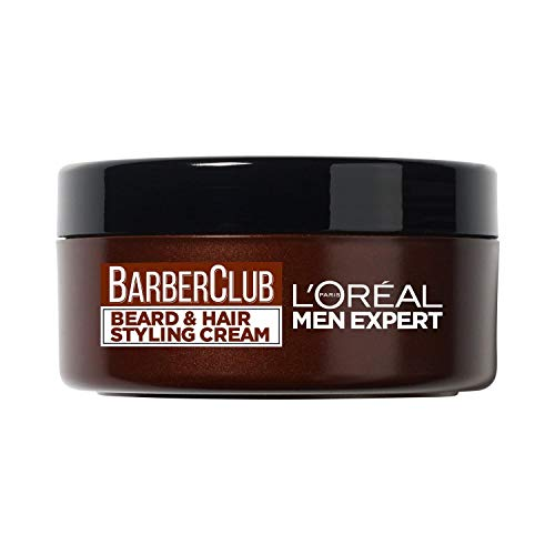 L'Oreal Men Expert Barber Club Beard & Hair Styling Cream, 75ml