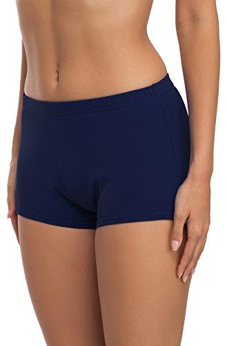Merry Style Damen Badeshorts Bikinihose Modell L23L1 (Dunkelblau (6007), 42)
