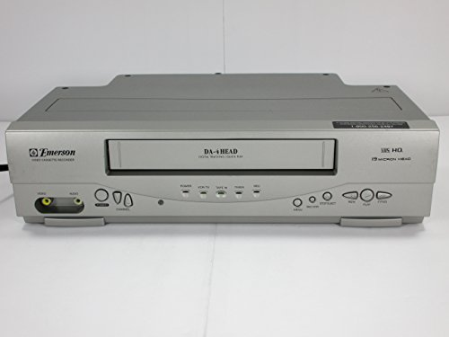 Emerson EWV404 4-Head Video Cassette Recorder with On-Screen Programming Display