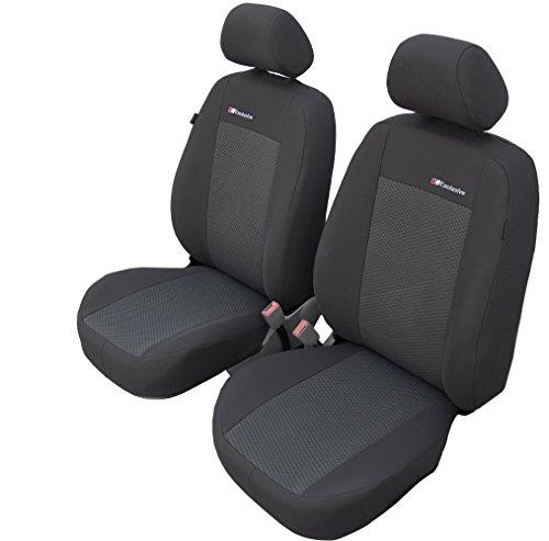 Vordersitzbezüge Exclusive DCT Universal Autositzbezüge Sitzbezüge Schonbezüge Grau