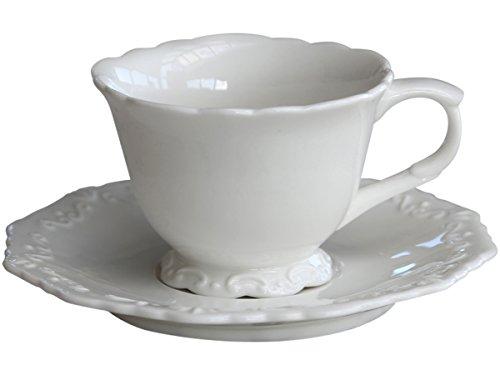 Chic Antique Tasse mit Unterteller