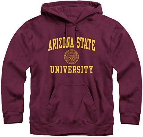 Ivysport Arizona State University Sun Devils Hooded Sweatshirt Heritage Maroon Large product image