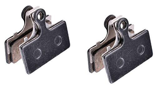 2 pares de pastillas de freno de bicicleta de montaña Para SHIMANO G01S XTR M9000 M9020 M985 M988 Deore XT M8000 M785 SLX M7000 M675 Deore M6000 M615 Almohadillas de disco Frenos de bicicleta