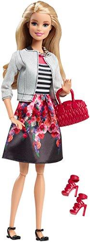 Barbie - Dhd85 - Mode Luxe - Jupe Imprimée Fleur