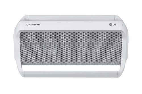 LG PK7W Outdoor Bluetooth Lautsprecher mit Meridian Technologie Weiß
