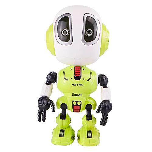 MAIKALUN Dampf Smart Sprechen Roboter Spielzeug für Kinder Interaktive Sprachgesteuerte Sensor, Mini Alloy Roboter Roboter Reise Spielzeug Multifunktions Sensing Touch für Kinder Spielzeug Geschenk