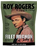 Filet Mignon Beef Jerky Snack Pack - All Natural, Old Fashioned Steak Jerky Bulk from Roy Rogers,...