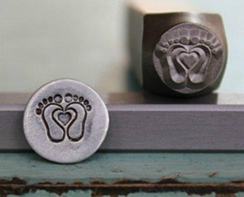 metal stamp feet - 5