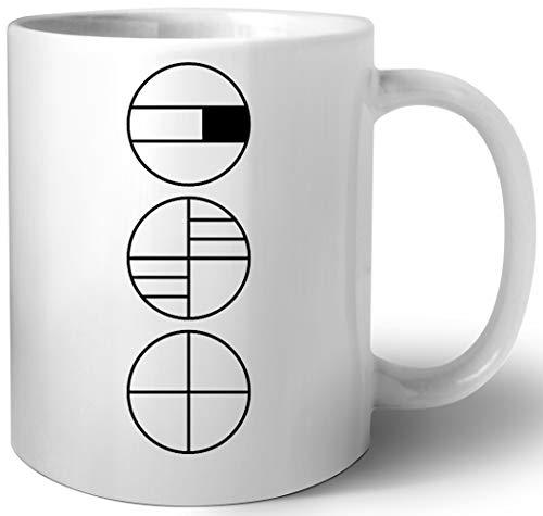 Bauhaus Alphabet Symbole Keramik Tassen Mug