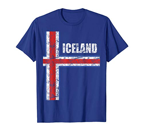 Iceland Soccer Jersey Style Vintage Style Kid Size Available T-Shirt