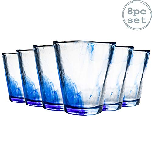 Bormioli Rocco Murano acqua / succo di Tumbler Glasses - 270ml - Set di 8