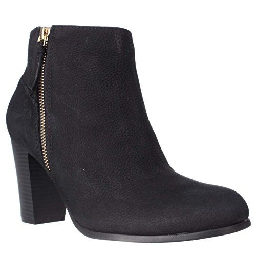 Cole Haan Womens Davenport Closed Toe Ankle Fashion, Black Nubuck, Size 9.5