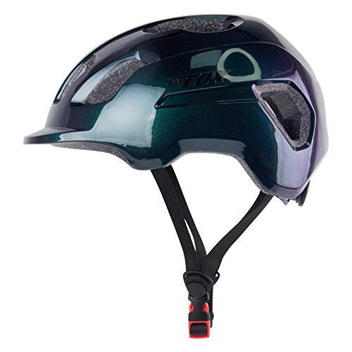 BWBIKE Casco de bicicleta para hombres y mujeres, casco de ciclismo ajustable para MTB, casco de monopatín ligero, reflectante y cómodo, casco deportivo de seguridad en carretera