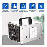Generador portátil de ozono para automóvil, 10000 mg / h Comercial de máquina de ozono para el hogar Ionizadores de aire para el hogar, para maldehído eliminación de aire esterilización y desinfecci