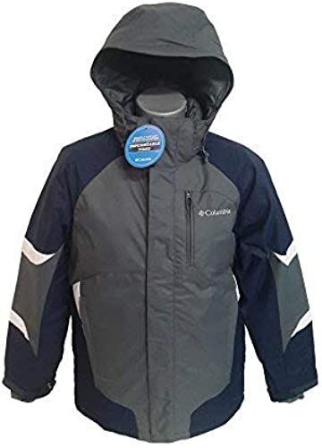 Columbia Shrougeinator veste - gris BLEU BLANC - Taille Medium
