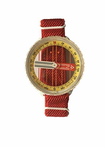 Moscow Compass 11B Boussole de Poignet, Transparent, Taille Unique