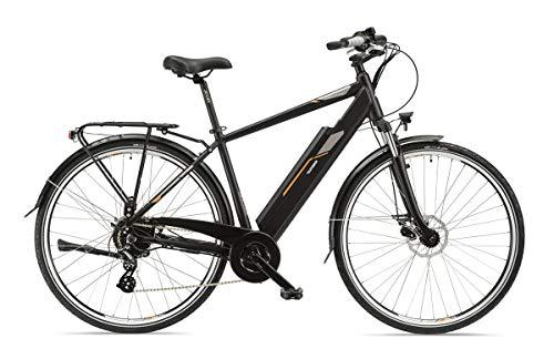 Telefunken E-Bike Herren Elektrofahrrad Alu 28 Zoll mit 8-Gang Shimano Acera Kettenschaltung, Pedelec Trekkingrad mit Hinterrad-Motor 250W 13Ah, 36V Akku, XC921 Expedition