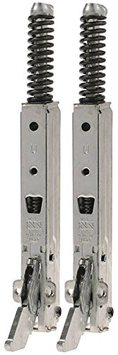 Unox ovenscharnier voor XF193, XF195, XF190, XFT133, XFT135 EP links/rechts lengte 155 mm 57 mm veerdikte 3 mm VPE 2 stuks
