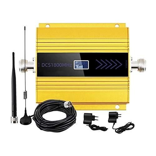 Wangxiaoxia Repetidor inalámbrico de Alcance WiFi Kit de Antena del repetidor 4g Amplificador Celular móvil LTE teléfono Impulsores de señal para la Oficina en casa (Color : Yellow, Size : Ones)