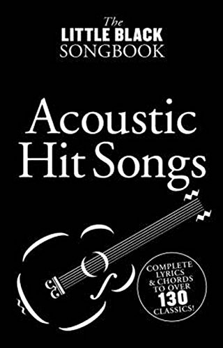 The Little Black Songbook Of Acoustic Hits Lc Book: Songbook für Gesang, Gitarre (Keyboard)